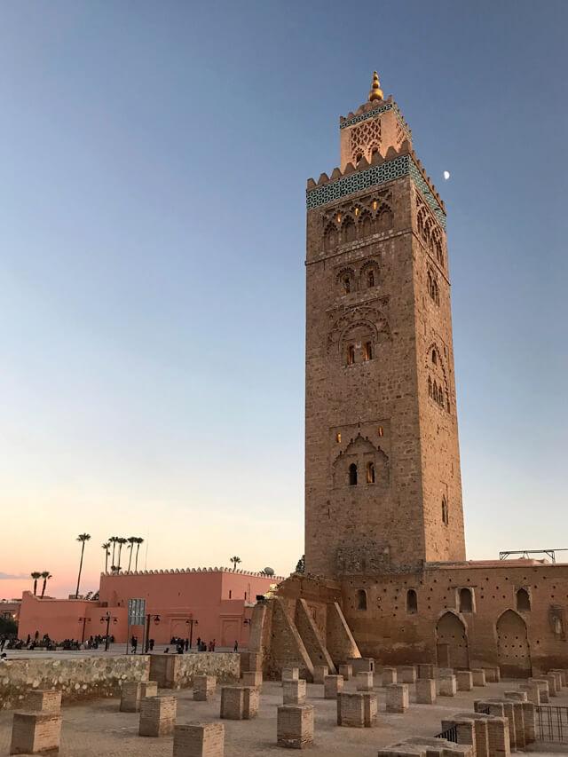 Il fascino esotico è imbattibile, come la Koutoubia di Marrakech