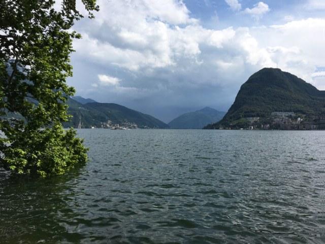 Lugano offre bellissimi panorami sul Lago di Lugano