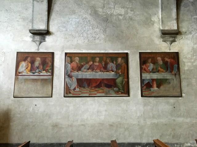 L'Ultima Cena di Bernardino Luini si trova a Lugano