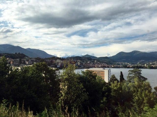 Viaggio in treno in Svizzera per gita fuori porta in Ticino