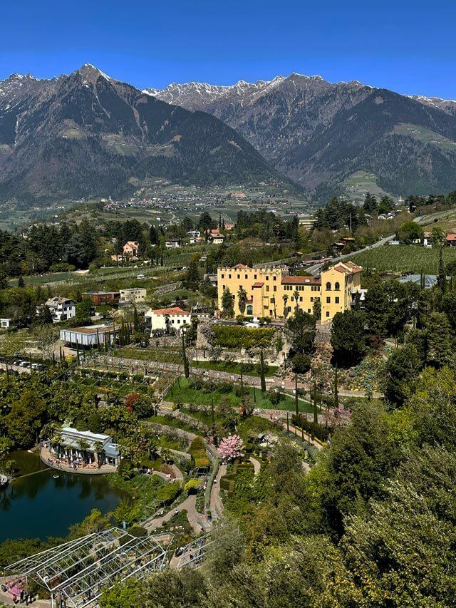 I giardini di Castel Trauttmansdorff sono i giardini più belli d'Italia!
