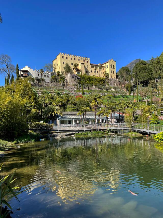 Giardini più belli d'Italia? I giardini di Castel Trauttmansdorff