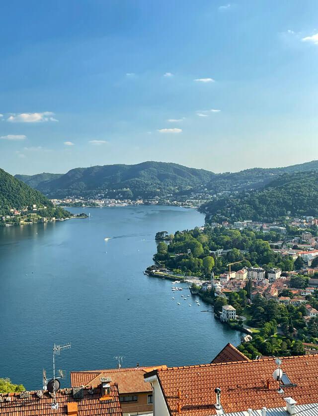 Rovenna ha un gran panorama sul Lago di Como e Cernobbio