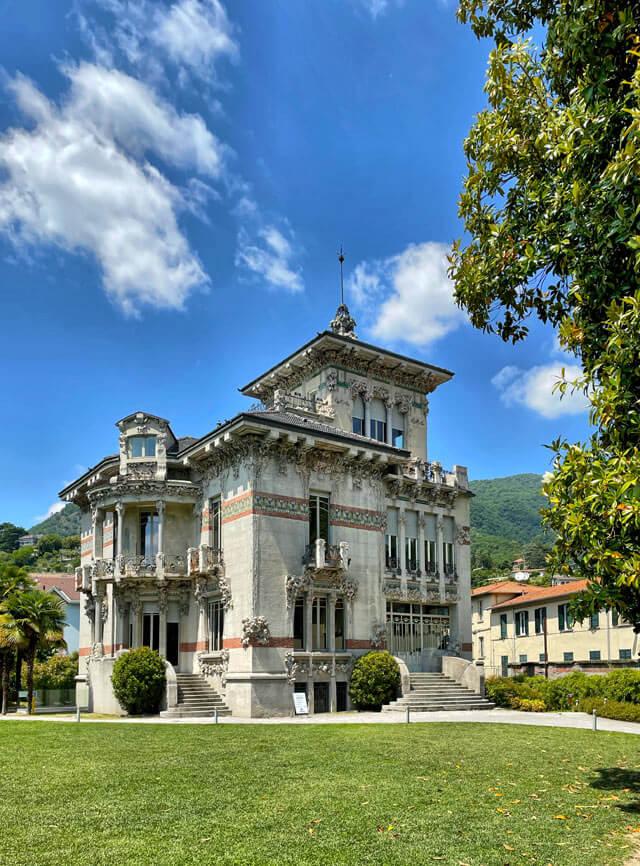 Villa Bernasconi è un capolavoro di stile liberty di Cernobbio