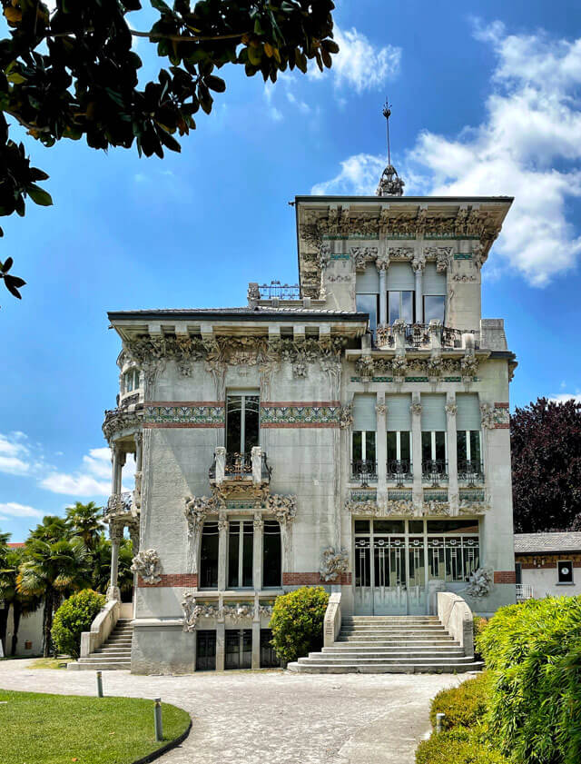 Villa Bernasconi è un capolavoro in stile liberty a Cernobbio