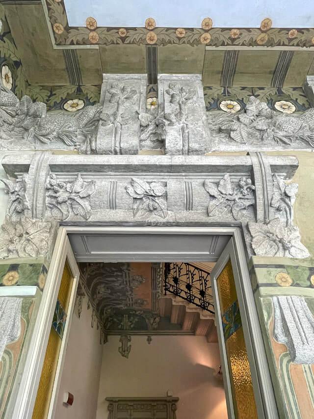 Villa Bernasconi è una meraviglia in stile liberty di Cernobbio,