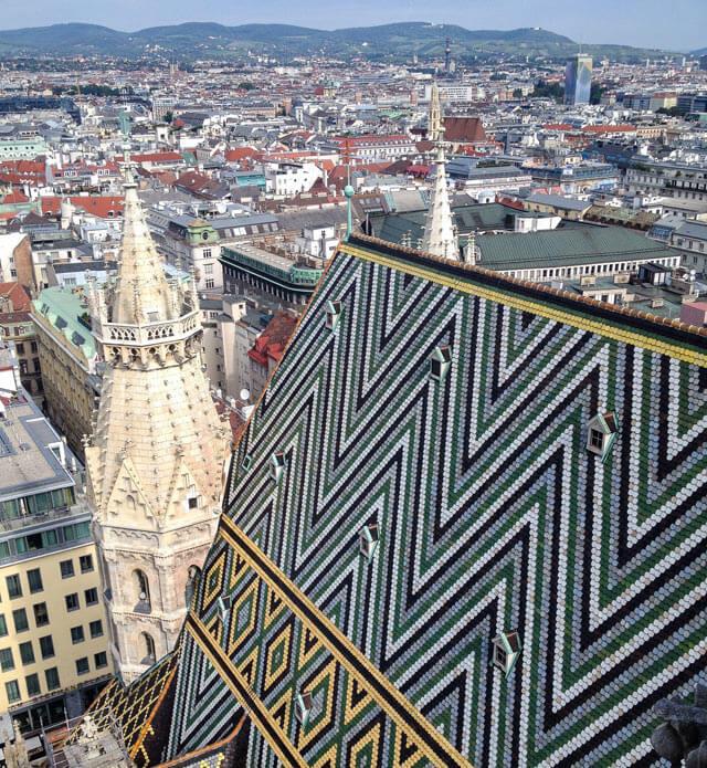 Cosa fotografare a Vienna? Il panorama dalla torre della Cattedrale