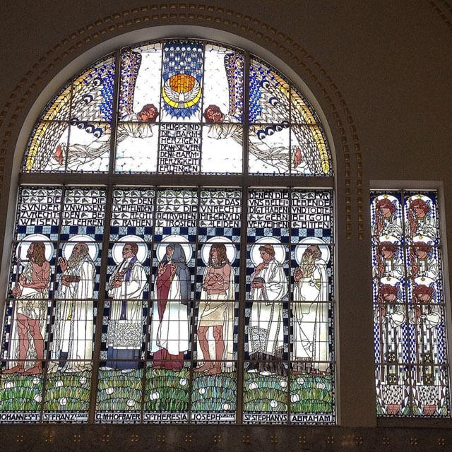 La Kirche Am Steinhof è una chiesa capolavoro di art nouveau da vedere a Vienna