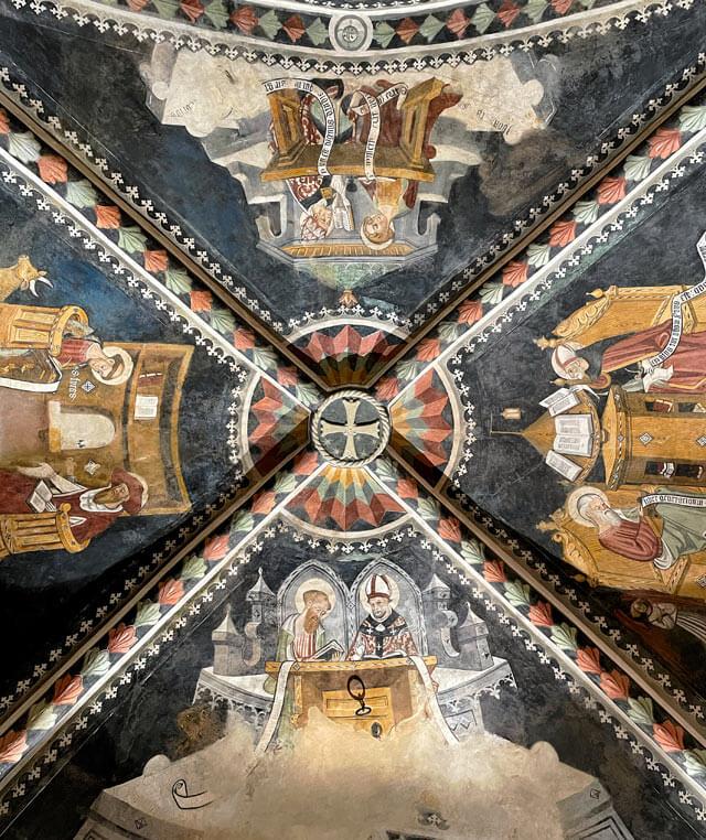 Cosa vedere nelle Langhe? La Cappella di San Maurizio a Castelnuovo di Ceva