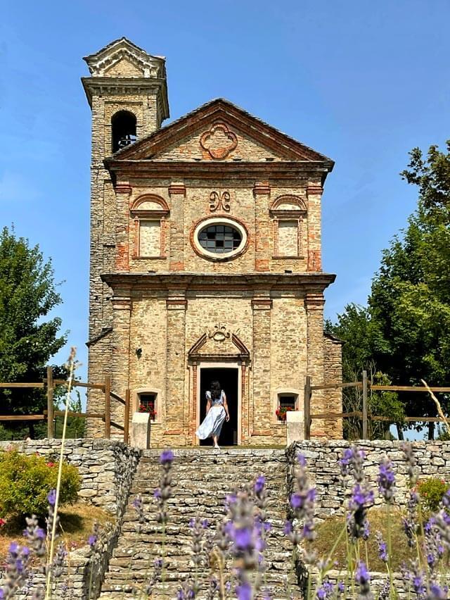Il Santuario Madonne dei Monti a Niella Belbo era caro a Beppe Fenoglio