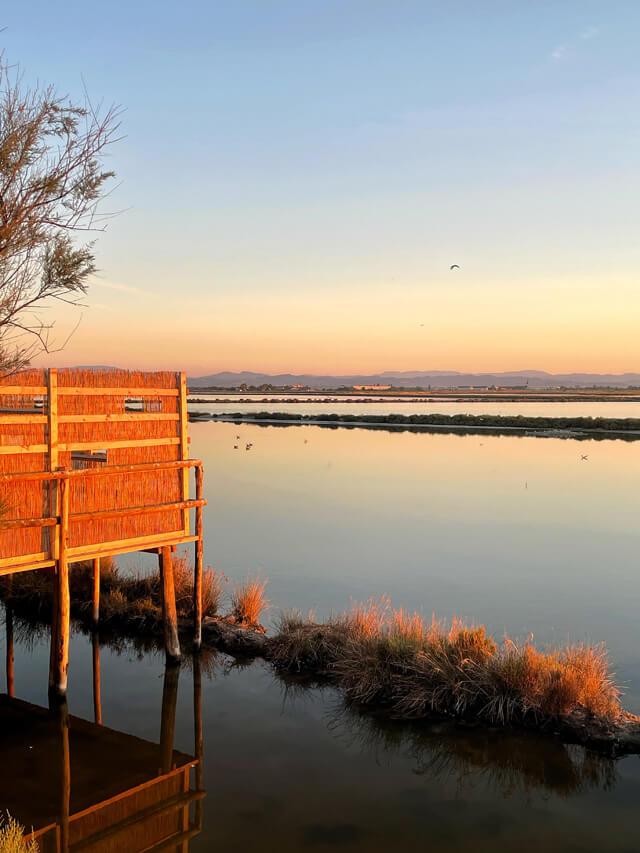 La salina di Cervia al tramonto: esperienza da fare in Romagna