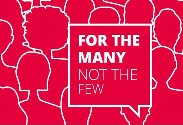 Image result for for the many not the few