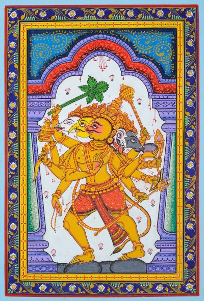 patachitra-hanuman