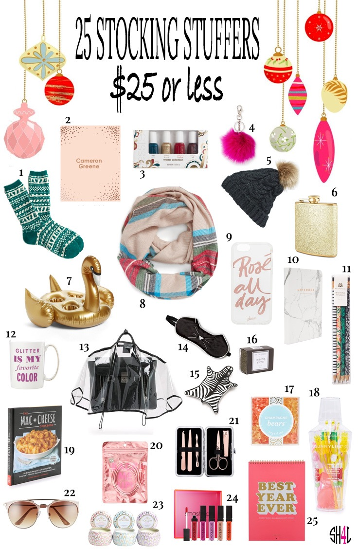 25 stocking stuffers for her $25 or less