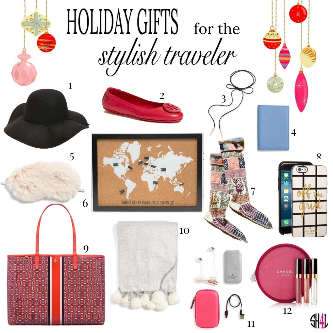 holiday gifts for the stylish traveler