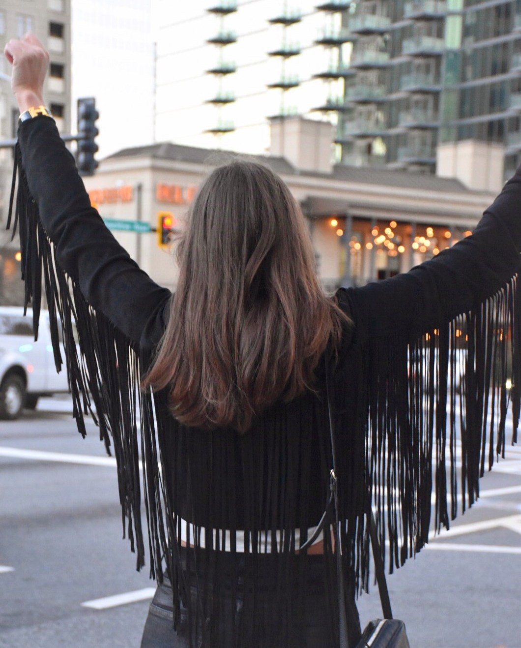 show me your mumu fringe jacket
