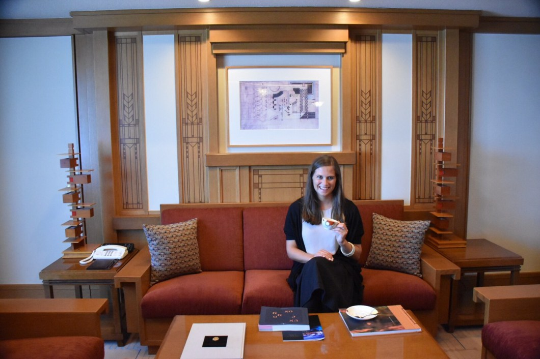 Imperial Hotel Tokyo Frank Lloyd Wright Suite