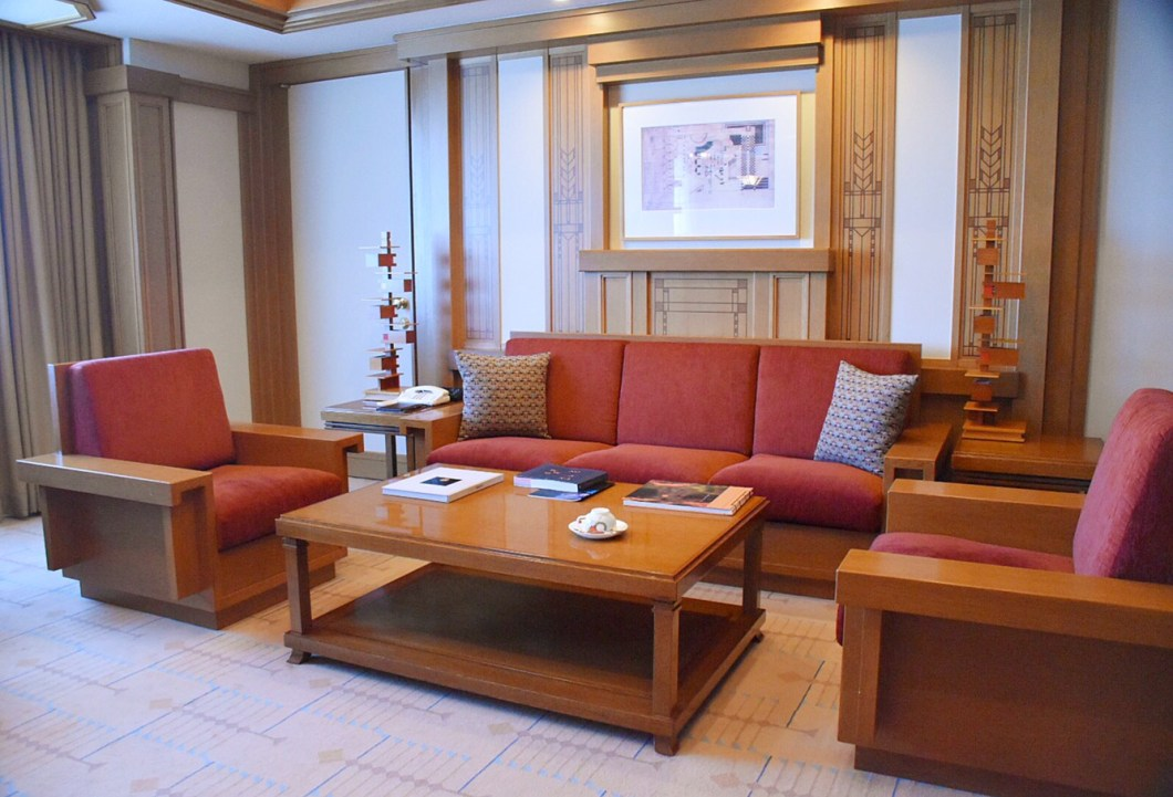 Imperial Hotel Tokyo, Frank Lloyd Wright Suite