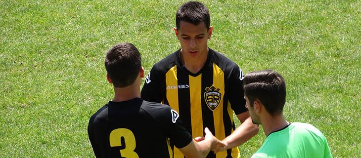 20 iulie 2019, Ştefan Nicolau îi lasă locul lui Adrian Ianovici (nr. 3) în meciul test cu Precizia Săcele.