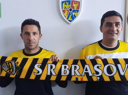 Liviu Nicolae si Serban Moraru la SR Brasov