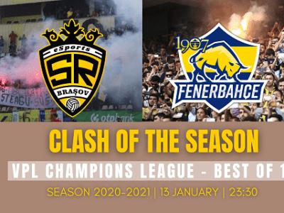 Optimi VPL Champions League SR Brasov esports 1907 Fenerbahce espo