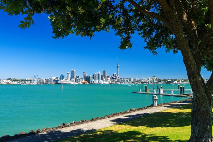 ニュージーランド・オークランドの風景