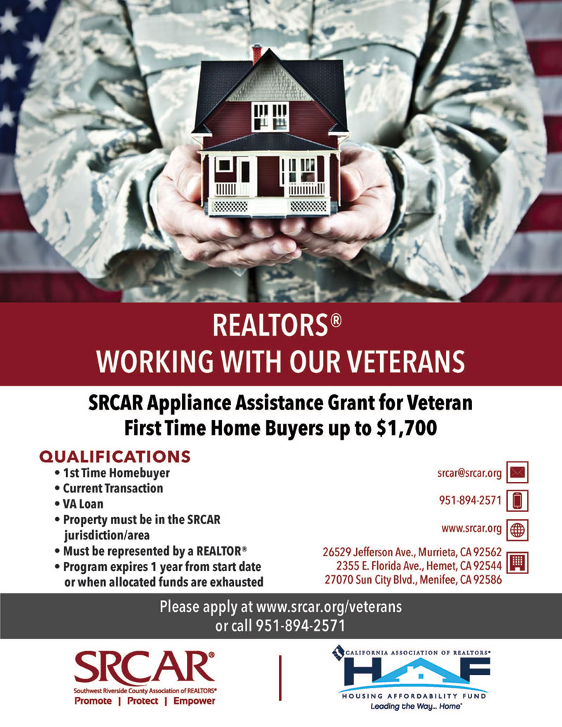 REALTORS working with our Veterans | SRCAR®