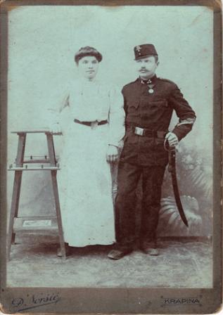 Slavekovi baka i djed Antonija i Andrija