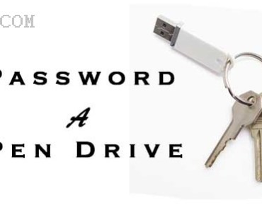 How To Protect USB Pen drive With Password 3