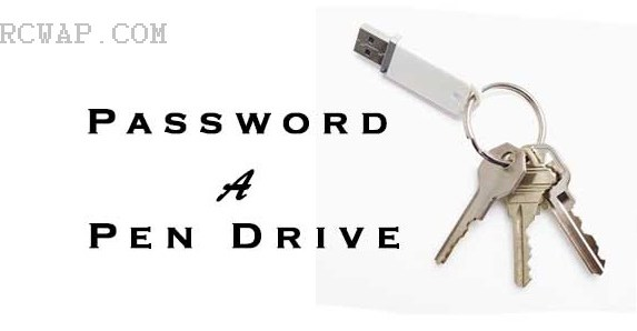 How To Protect USB Pen drive With Password 1
