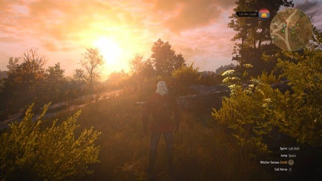 "The Witcher 3 with ""Ultra"" graphics settings."