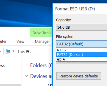 What's the Difference Between FAT32 vs NTFS vs exFAT USB Pen drive? 4