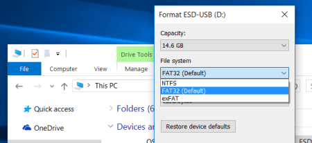 What's the Difference Between FAT32, exFAT, and NTFS
