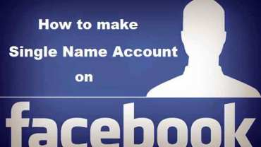 How to Create Single Name on Facebook without Proxy in 2019 1