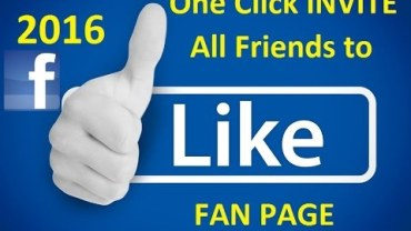 Invite All Friends to Like Facebook Page in 1 Click 2016 2
