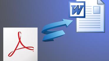How to Convert PDF Files to Word Format (.doc, docx) free 4
