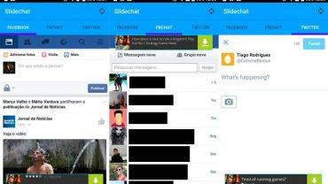 How to Use Facebook, FB Chat and Twitter with a Single App on Android device 3