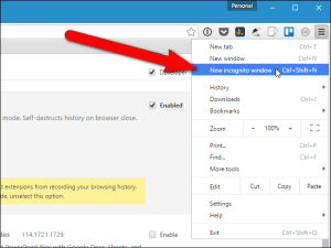 How to Temporarily Save Your Browsing History in Chrome's Incognito Mode