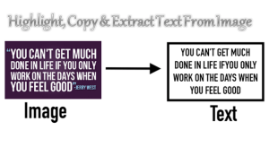 Highlight, Edit and Copy Text from any Online Image (Copy Text From Picture)