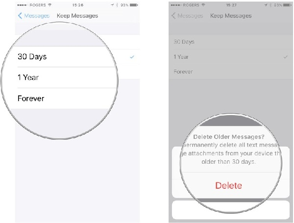 How to Delete Text Messages and iMessages in iOS 2