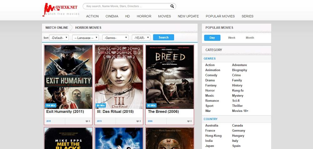 MOVIEXK - BEST WEBSITES TO WATCH HORROR FILMS ONLINE