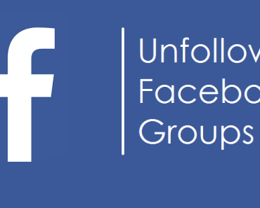 How to Unfollow All Facebook Groups at Once 4