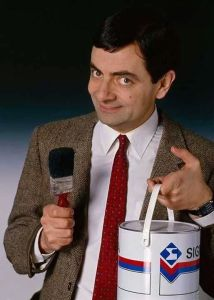 Funny-Mr-Bean-With-Paint-Bucket-And-Brush-Picture