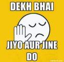 Whatsapp DP Profile Picture for Group Dekh bhai