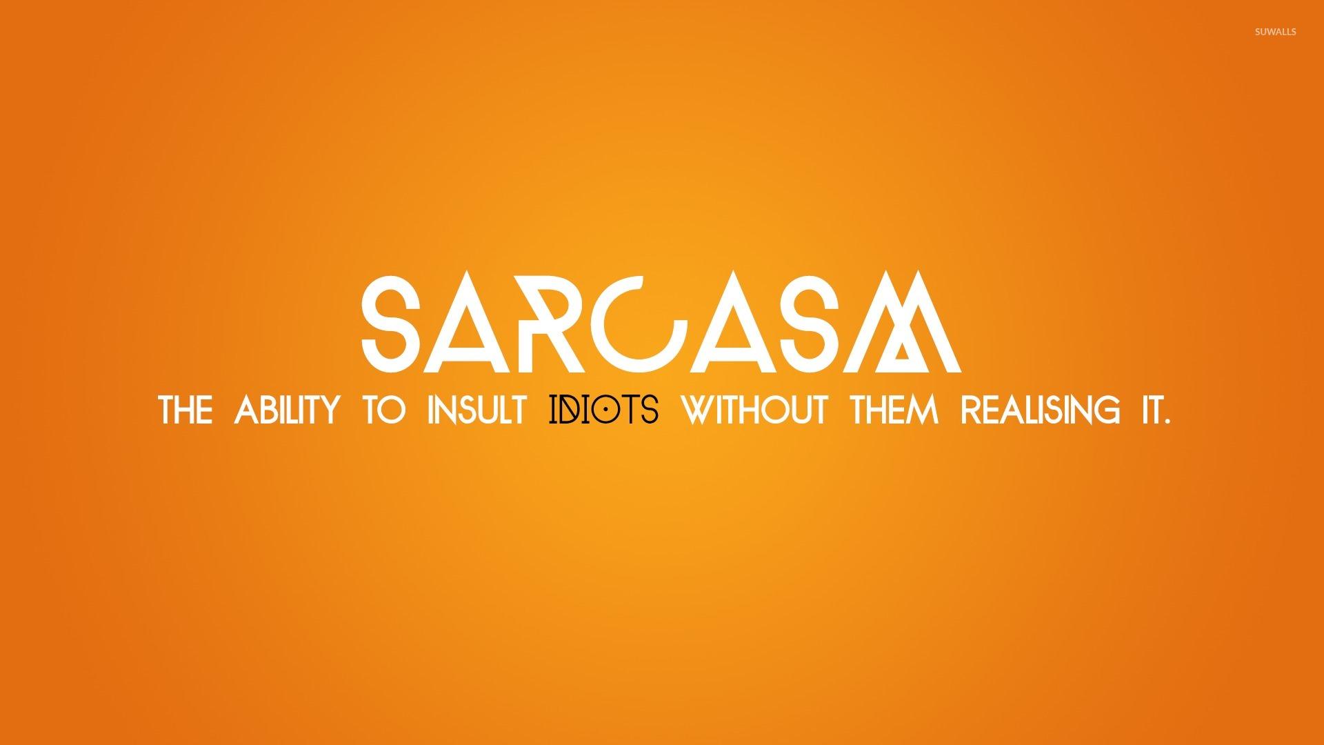 Top 111+ Funny Sarcasm Quotes Status & Sarcastic Sayings ...