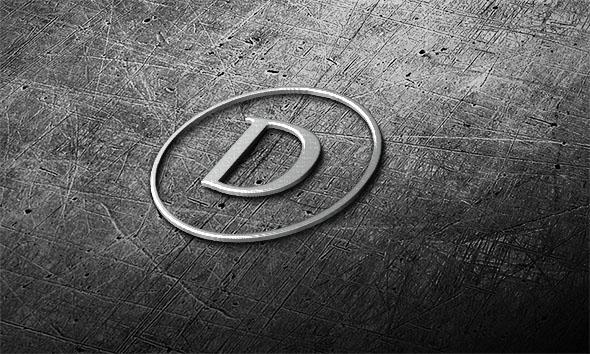 25+ Best 3D Logo Mockup Adobe PSD & Vectors 1