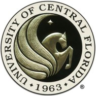Seal of the University of Central Florida -- Cortni completed a BA in English in 2012