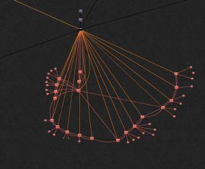 L'interface de Klynt pour constituer une arborescence