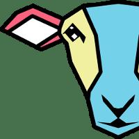 Logo sirdar électrique en bleu