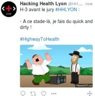 Capture d'un tweet avec GIF humoristique